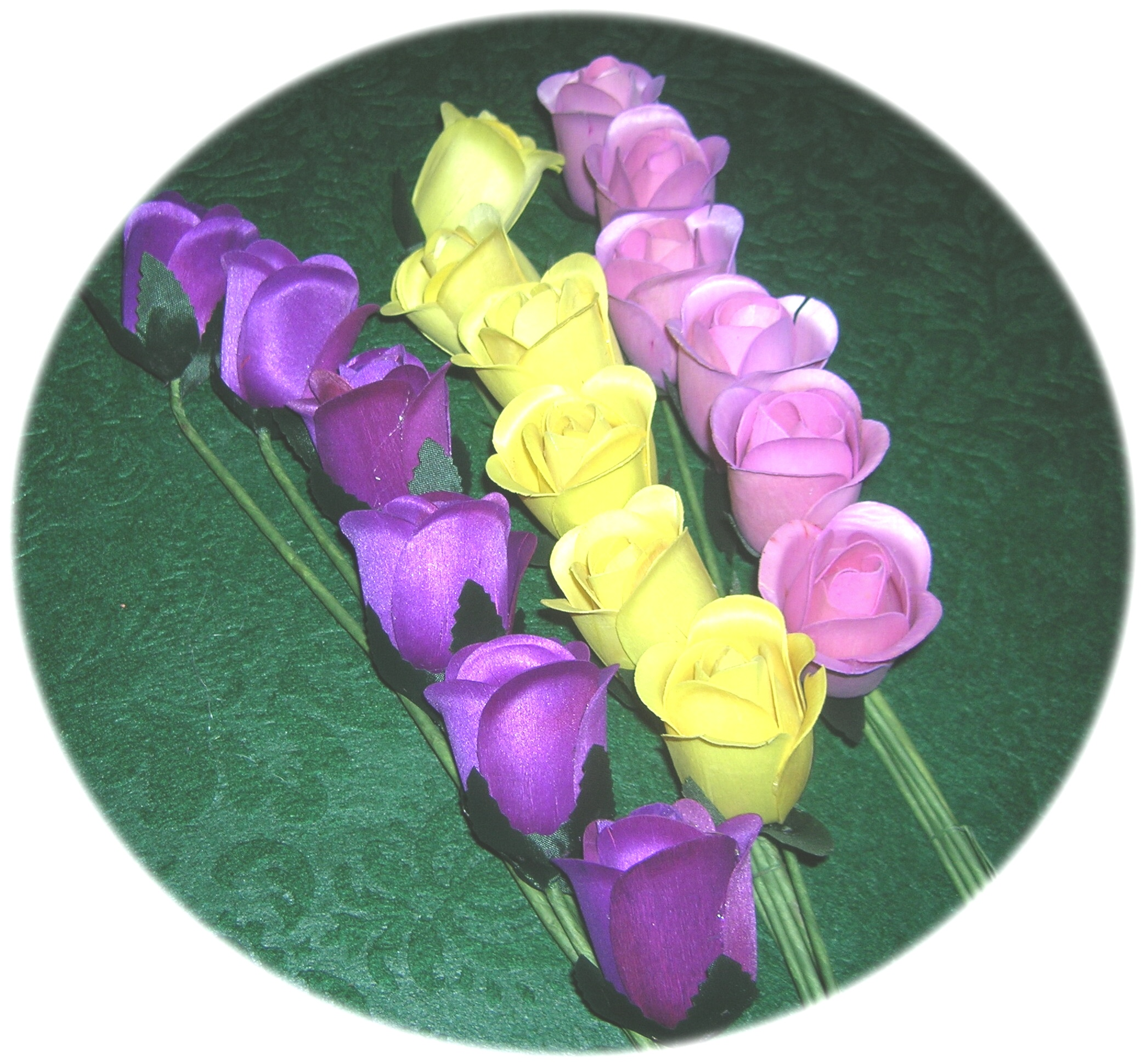Wood Roses And Wood Flowers Personalized By Touched Forever Flowers