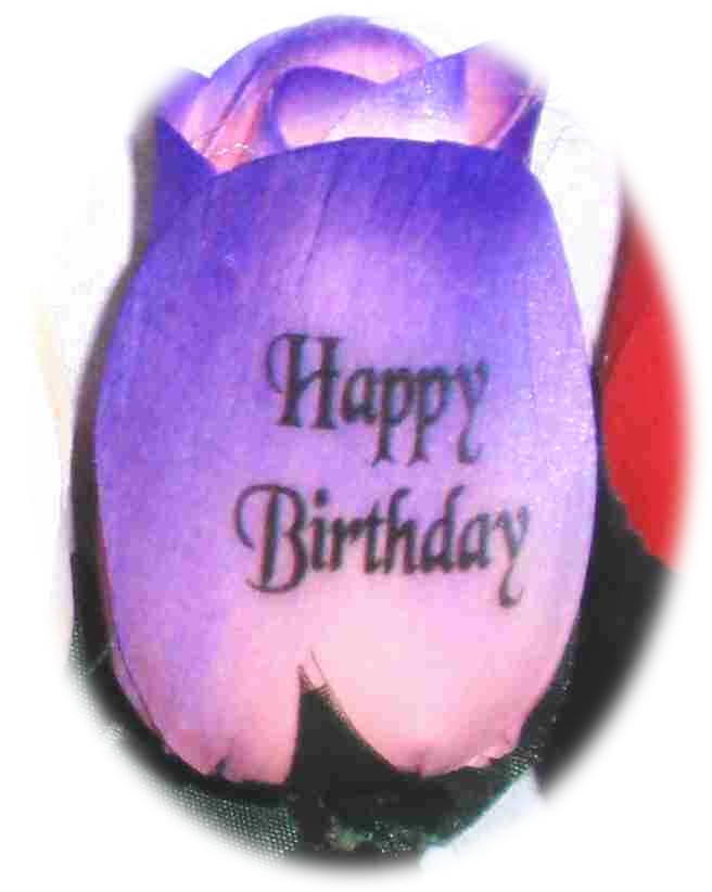 happy birthday personalized wooden roses the perfect